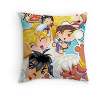 Street Fighter 25 Anniversary 2 Throw Pillow