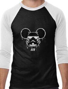 Mouse Trooper Men's Baseball ¾ T-Shirt