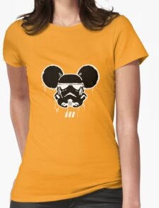 Mouse Trooper Womens Fitted T-Shirt