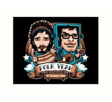 Folk Yeah! Art Print