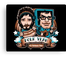 Folk Yeah! Canvas Print