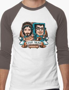 Folk Yeah! Men's Baseball ¾ T-Shirt