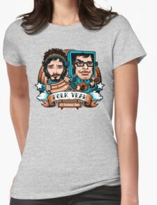 Folk Yeah! Womens Fitted T-Shirt