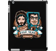 Folk Yeah! iPad Case/Skin
