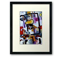 Kaffeeklatsch Framed Print