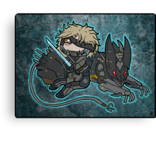 Raiden and Wolf Canvas Print