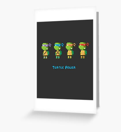 Turtle Power Greeting Card