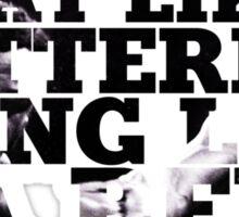 Muhammad Ali t shirt Sticker
