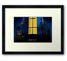 Shelby Cobra w/Hood Up Framed Print