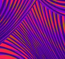 Vibrant Wave Sticker