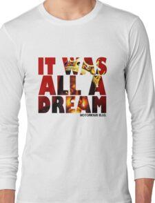 NOTORIOUS B.I.G. T Shirt  Long Sleeve T-Shirt