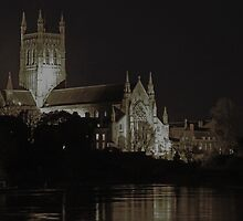 Worcester Cathedral by dragoniab