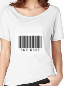 """Person of Interest """"Bad Code"""" Women's Relaxed Fit T-Shirt"""