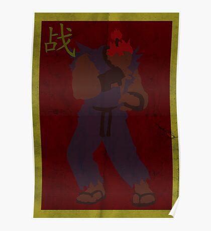 FIGHT: Street Fighter Edition #3 Akuma Poster