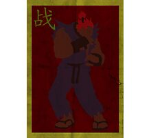 FIGHT: Street Fighter Edition #3 Akuma Photographic Print