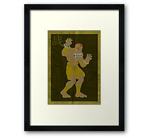 FIGHT: Street Fighter Edition #3 Dhalsim Framed Print