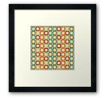 Shabby Sweet Geometric Framed Print