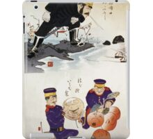 Humorous pictures showing Chinese military tactics 001 iPad Case/Skin