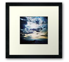 March Evening Framed Print