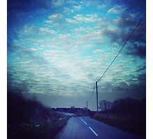 Lots of Clouds. Photographic Print