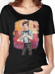 Tea, Jammy Dodgers & Daleks Women's Relaxed Fit T-Shirt