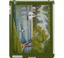 The Seine at La Grande Jatte iPad Case/Skin