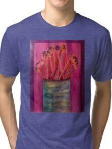 A Little Brush Work Tri-blend T-Shirt