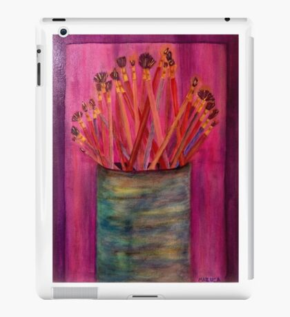 A Little Brush Work iPad Case/Skin
