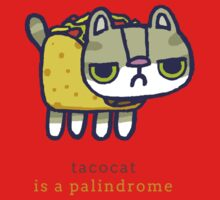 Tacocat is a palindrome Baby Tee