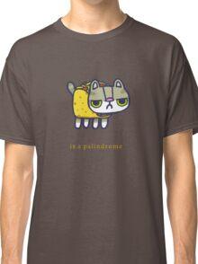 Tacocat is a palindrome Classic T-Shirt