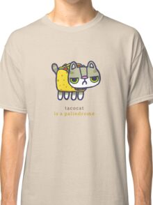 Tacocat is a palindrome Classic T-Shirt