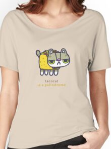 Tacocat is a palindrome Women's Relaxed Fit T-Shirt