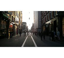 Streetlife Amsterdam Photographic Print