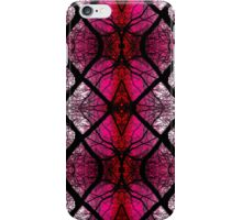 Marbled X - Pink iPhone Case/Skin