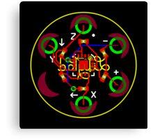LilyPad Accelerometer ADXL335 Reference Design Canvas Print