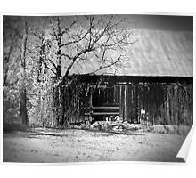 Rustic Tennessee Barn Poster