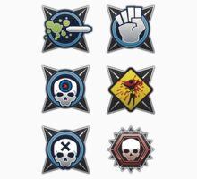 Halo 4 Sticker Pack 1 by Erik Johnson
