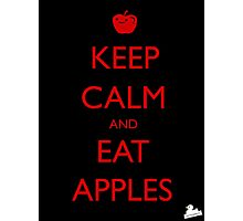 Eat Apples Photographic Print