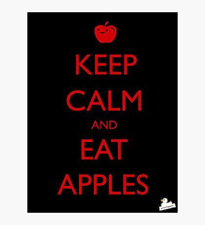Eat Apples Photographic Print