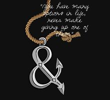 Of Mice & Men Anchor - Austin Quote Unisex T-Shirt