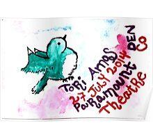 "Tori Amos Concert ""Poster"" Denver 2014 1  Poster"