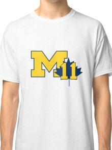 Nik Stauskas #11 UofM T-Shirt  Classic T-Shirt