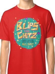 Rick & Morty - Blips and Chitz! Classic T-Shirt