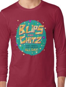 Rick & Morty - Blips and Chitz! Long Sleeve T-Shirt