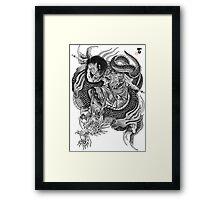 Kumonryu Shishin to Ryu Framed Print