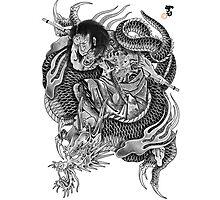 Kumonryu Shishin to Ryu Photographic Print