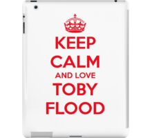 Keep Calm - Toby Flood iPad Case/Skin
