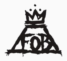 Fall Out Boy Save Rock And Roll Logo Clone by PlainOlBrod