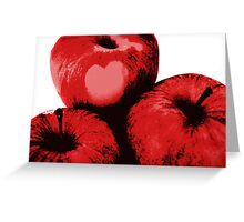 Love and Apples Greeting Card
