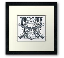 Woodbury, A Gated Community Framed Print
